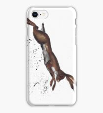 LEAPING HARE iPhone Case/Skin