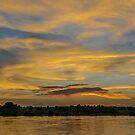 Irrawaddy Sunset by Werner Padarin