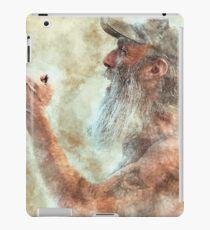 Old Man in Cap iPad Case/Skin