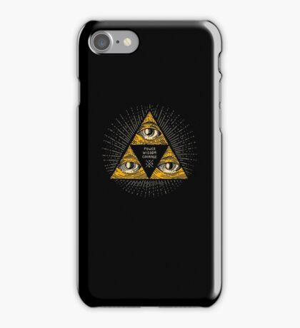 Trilluminati iPhone Case/Skin