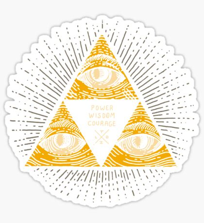 Trilluminati Sticker