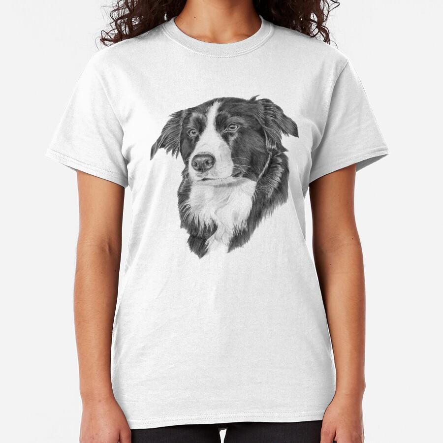 Border collie 1 Classic T-Shirt