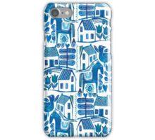Blue Scandi iPhone Case/Skin