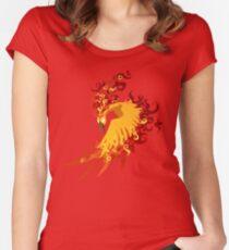Moltres Legendary bird Women's Fitted Scoop T-Shirt