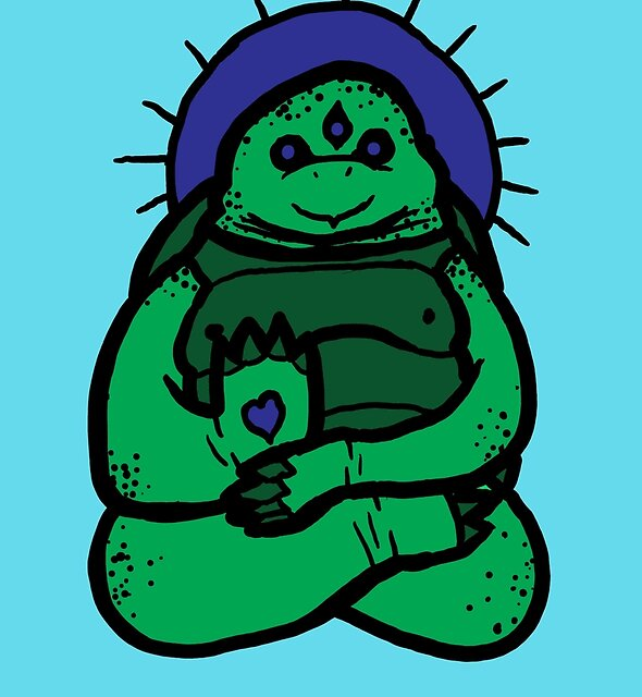 Spirit Turtle by Jonah Block