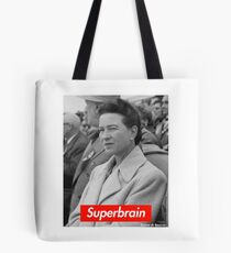 Superbrain - Simone de Beauvoir Tote Bag
