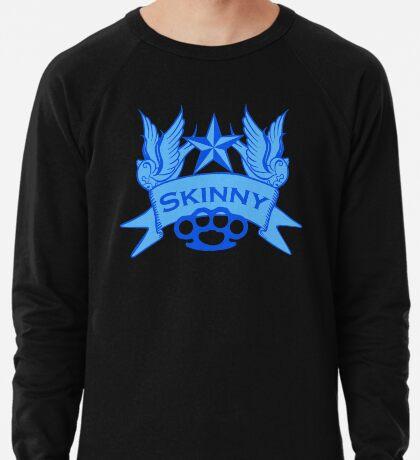 Wisconsin Skinny Blue Swallows Lightweight Sweatshirt