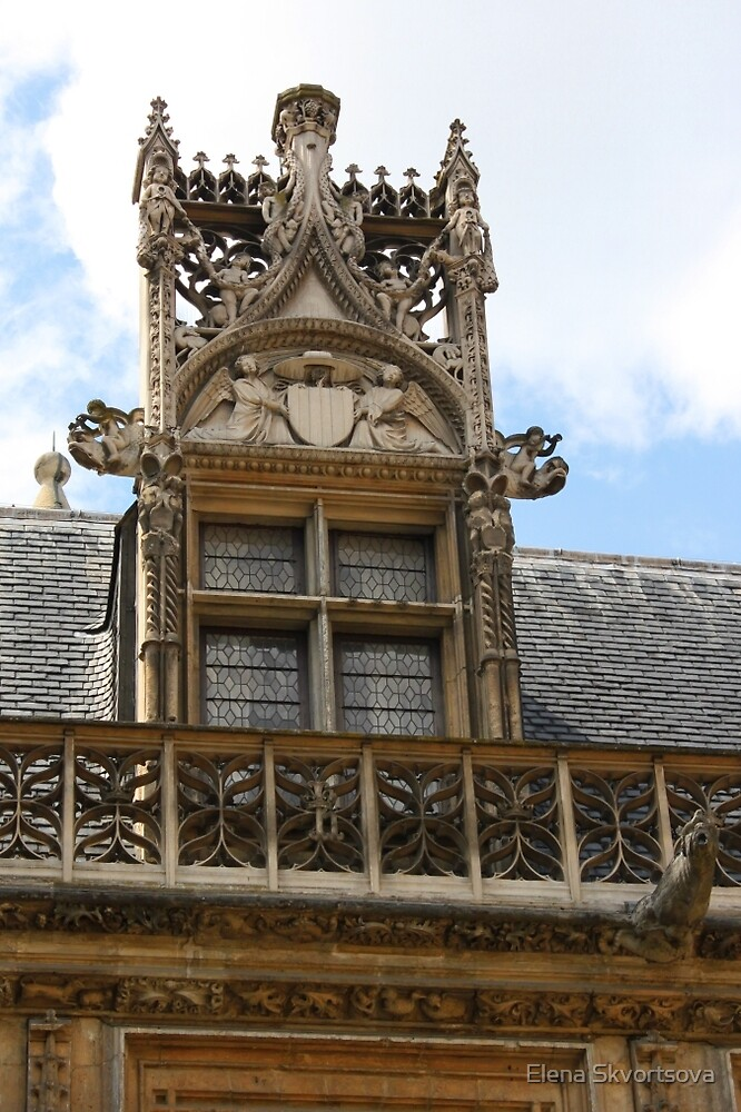 Ornate window by Elena Skvortsova
