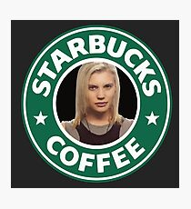 Starbucks Coffee Photographic Print