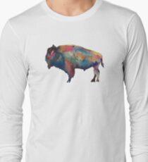Buffalo, NY Watercolor Long Sleeve T-Shirt