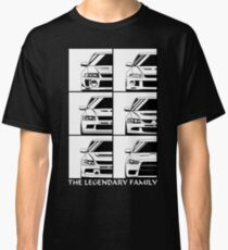 Mitsubishi Evolution. Legendary Family Classic T-Shirt