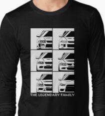 Evolution. Legendary Family Long Sleeve T-Shirt