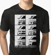 Evolution. Legendary Family Tri-blend T-Shirt
