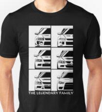 Evolution. Legendary Family Unisex T-Shirt