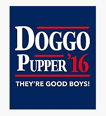 Doggo Pupper Photographic Print
