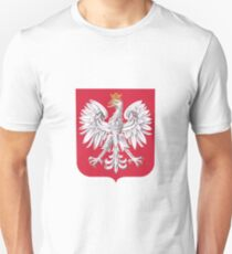 Polish Eagle Shield T-Shirt