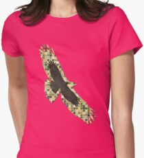 Soaring Hawk Womens Fitted T-Shirt