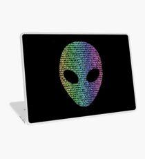 Coloured Alien Typograph Laptop Skin