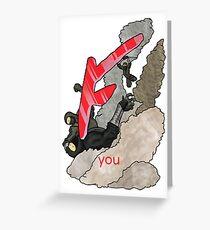 F you Greeting Card