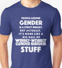 Wibbly Wobbly Gender Bender T-Shirt