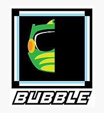 Robot Master - Bubble Photographic Print