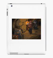 Cave adventure iPad Case/Skin