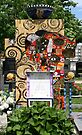 Klimt inspired grave. by Lee d'Entremont