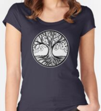 Thriving Tree Women's Fitted Scoop T-Shirt