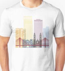 Omaha skyline poster Unisex T-Shirt