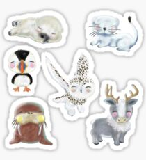 Wee Animals Sticker Set 3 Sticker