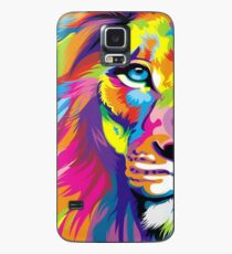 Multicolored Lion Case/Skin for Samsung Galaxy
