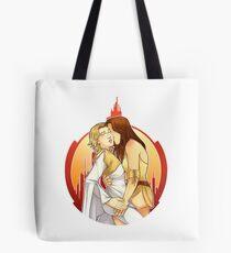 Gallifrey OTP: Leela/Romana Tote Bag