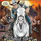 SheVibe Presents Sliquid Silver - The Studio Collection - Cover Art by shevibe
