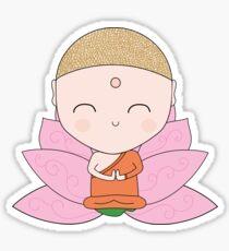 Cute little Buddha. Sticker