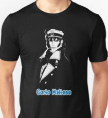 Corto Maltese hugo pratt comic retro vintage sailor venezia malta italy pirate movies tv shows T-Shirt