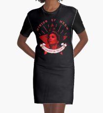 Minion of Meow  Noir Graphic T-Shirt Dress