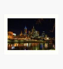 Melbourne 2014 Art Print