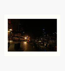 The Yarrah walk Melbourne  Art Print