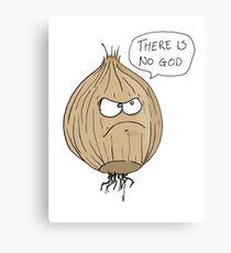 The Atheist Onion Metal Print