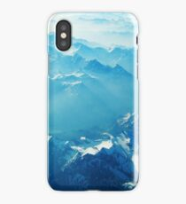 Birds View on the Alps (Velvia) VRS2 iPhone Case/Skin