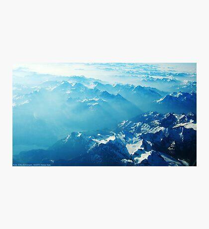 Birds View on the Alps (Velvia) VRS2 Photographic Print