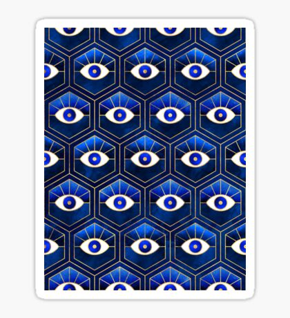 Eyes - Blue Sticker