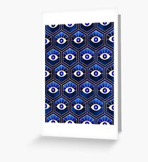 Eyes - Blue Greeting Card