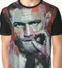 Conor McGregor, UFC Pop Art Portrait Graphic T-Shirt
