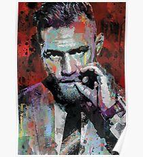 Conor McGregor, UFC Pop Art Portrait Poster