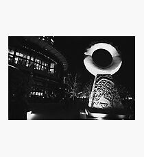 Outside the Crown Casino Melbourne  Photographic Print