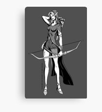 Vivandrel - Elf Canvas Print