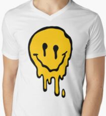 ACID SMILE Men's V-Neck T-Shirt