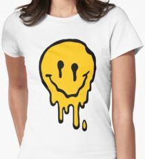 ACID SMILE Womens Fitted T-Shirt