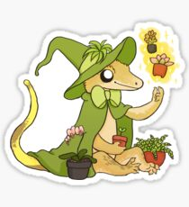 Gecko mit Haube - Stevie Sticker